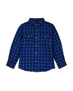 Mini Series - Boys' Buffalo Plaid Shirt, Little Kid - 100% Exclusive